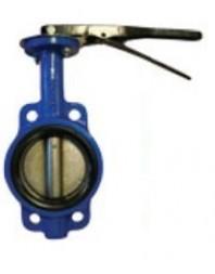Válvula de mariposa conexión tipo wafer de palanca
