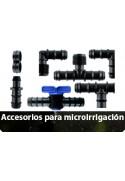 Accesorios para microirrigación