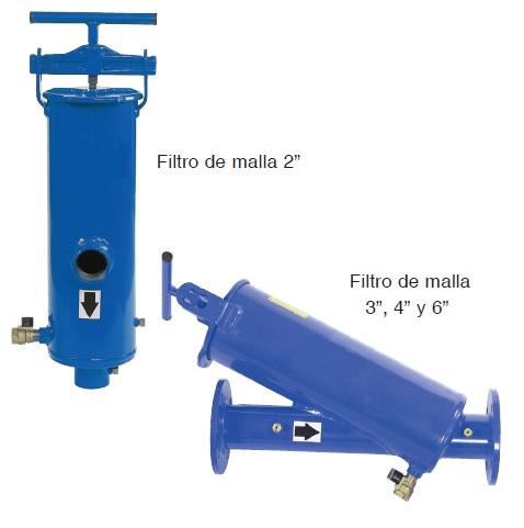 Filtro de malla manual met lico agrologica - Filtro de malla ...